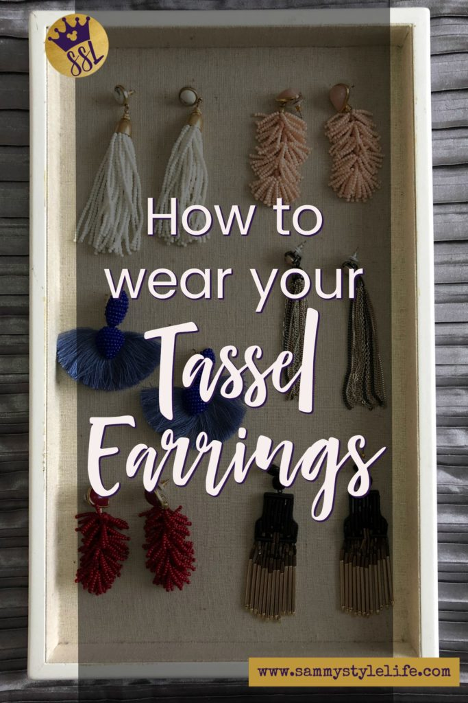 Tassel Earrings how to wear them