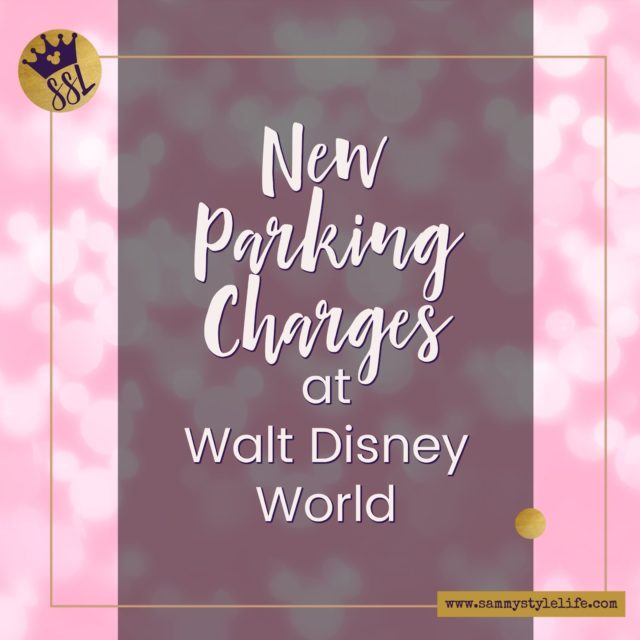 Parking charges at Walt Disney World