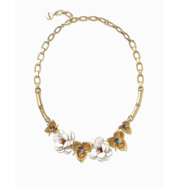 Camellia Statement Necklace