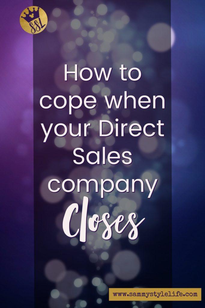 Direct Sales Company Closure